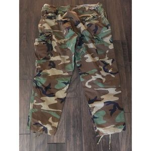 Other - Camo Cargo Pants